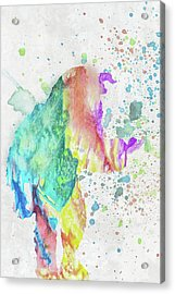 10787 Beast Acrylic Print
