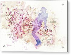 10849 All That Jazz Acrylic Print