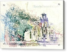10858 Mission San Fransico De La Espada Acrylic Print