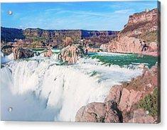 10917 Shoshone Falls Acrylic Print