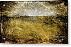 10b Abstract Expressionism Digital Painting Acrylic Print