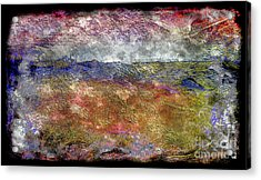 10c Abstract Expressionism Digital Painting Acrylic Print