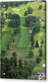 10th Hole Sunnybrook Golf Club 398 Stenton Avenue Plymouth Meeting Pa 19462 1243 Acrylic Print by Duncan Pearson