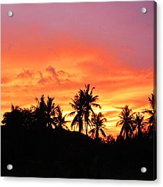 #10yearsoftravel Another Weekend Is Acrylic Print by Dante Harker