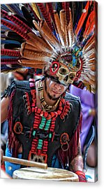 Dia De Los Muertos - Day Of The Dead 10 15 11 Acrylic Print