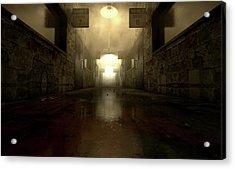 Mental Asylum Haunted Acrylic Print