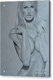 No Title Acrylic Print by Marek Halko