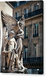 Acrylic Print featuring the photograph Paris Opera by Songquan Deng