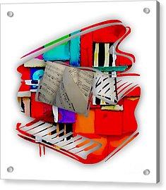 Piano Collection Acrylic Print
