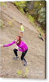Pikes Peak Road Runners Fall Series Race Acrylic Print