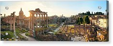 Rome Forum  Acrylic Print by Songquan Deng