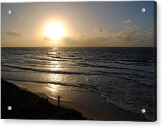Sunset At Jaffa Beach 5 Acrylic Print