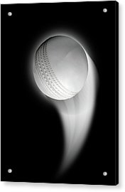 Swooshing Ball Acrylic Print