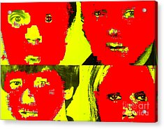 Talking Heads Collection Acrylic Print
