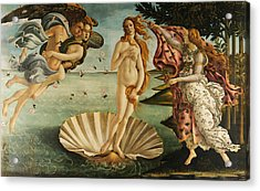 The Birth Of Venus Acrylic Print by Sandro Botticelli