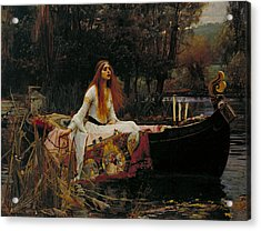 The Lady Of Shalott Acrylic Print