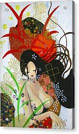Ubume Acrylic Print by Jung ji Lee