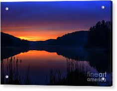 Acrylic Print featuring the photograph Winter Dawn by Thomas R Fletcher