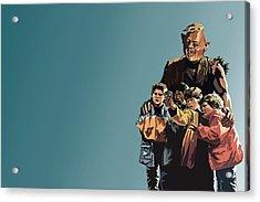 112. Never Say Die Acrylic Print by Tam Hazlewood