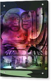 1141 - Lurking ... Acrylic Print