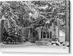 Acrylic Print featuring the photograph 117 Center Street by Don Nieman