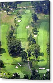 11th Hole Sunnybrook Golf Club 398 Stenton Avenue Plymouth Meeting Pa 19462 1243 Acrylic Print by Duncan Pearson