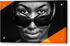 Aretha Franklin Collection Acrylic Print
