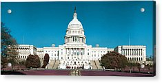 Capitol Building Acrylic Print by Artistic Panda