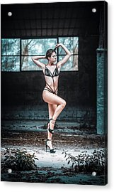 Acrylic Print featuring the photograph Giulia by Traven Milovich