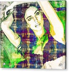 Irina Shayk Acrylic Print by Svelby Art