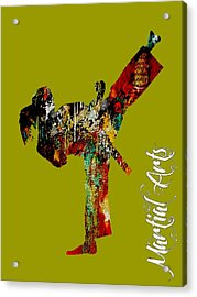 Martial Arts Collection Acrylic Print