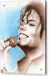 Michael Jackson #six Acrylic Print