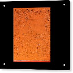Orange No.11 16 X 20 2010 Acrylic Print