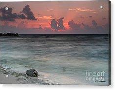 Sea Scape Sunrise Acrylic Print