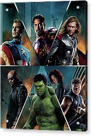 The Avengers 2012 Acrylic Print