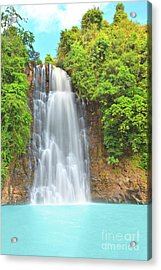 Waterfall Acrylic Print by MotHaiBaPhoto Prints