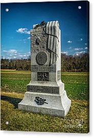 121st Pennsylvania Infantry Monument Acrylic Print