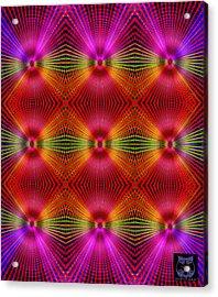 Acrylic Print featuring the digital art #122720154 by Visual Artist Frank Bonilla