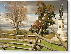 124th Pennsylvania Infantry Monument Acrylic Print