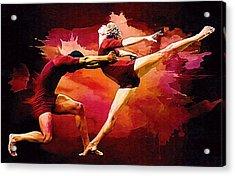 Dance. Acrylic Print by Elena Kosvincheva