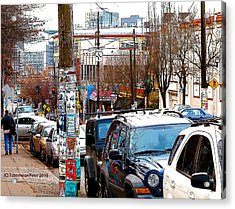 12th And Pike St. Capitol Hill Acrylic Print