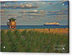 Acrylic Print featuring the photograph 13- Cruising In Paradise by Joseph Keane