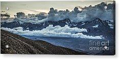 Eastern Sierras Acrylic Print by Richard Smukler