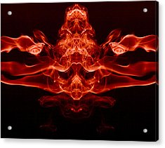 13 Faces Acrylic Print by Val Black Russian Tourchin