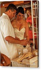 Faulkner Wedding Acrylic Print