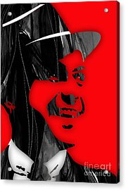 Frank Sinatra Collection Acrylic Print by Marvin Blaine