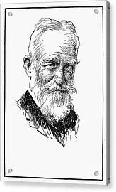 George Bernard Shaw Acrylic Print by Granger