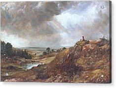 Hampstead Heath Acrylic Print by John Constable