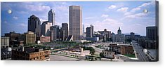 High Angle View Of A City Acrylic Print by Panoramic Images