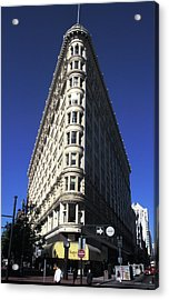 Phelan Building In San Francisco Acrylic Print by Carl Purcell